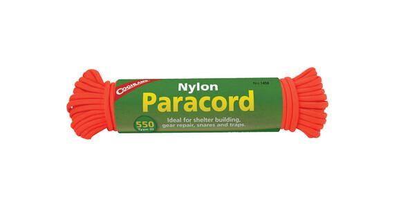 Coghlans Paracord 15,25m neon orange